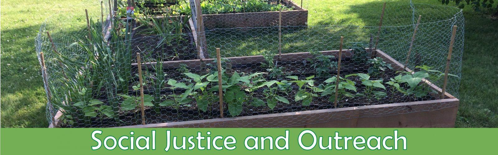 Banner-Slider Social Justice & Outreach Community Garden