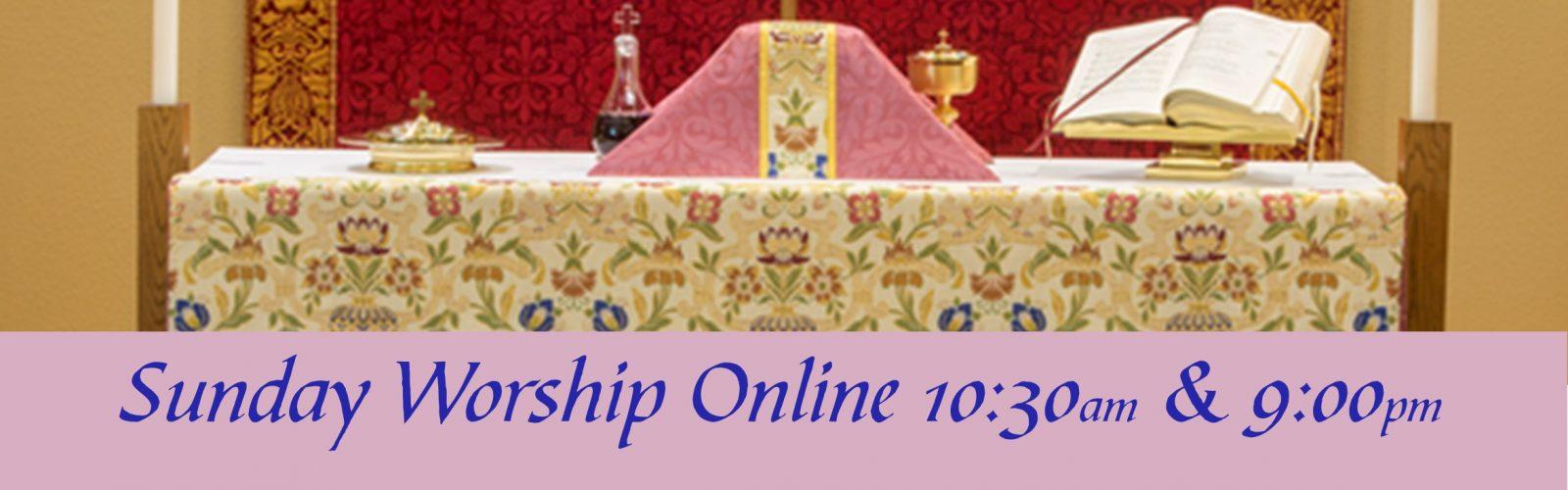 Rose Frontal Worship Banner-Slider